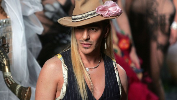 """TO GO WITH AFP STORY : """" John Galliano,"""