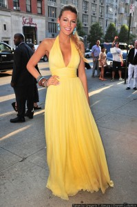 Blake Lively (wearing a dress by Gucci) at arrivals for SAVAGES Premiere, School of Visual Arts (SVA) Theater, New York, NY June 27, 2012. Photo By: Gregorio T. Binuya/Everett Collction                                                       ction                                                       ction