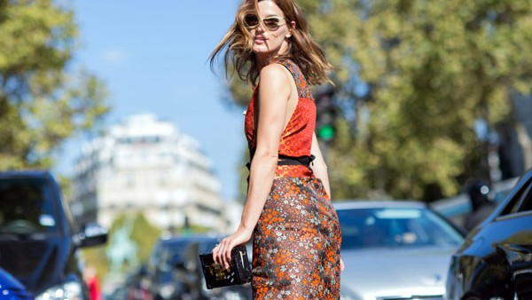 Paris Fashion Week -  Spring/Summer 2015 - Streetstyle  Featuring: Hanneli Mustaparta Where: Paris, France When: 01 Oct 2014 Credit: The Styleograph/WENN.com