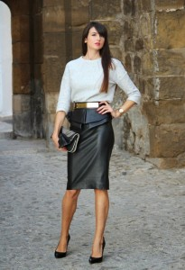 How-to-Wear-Pencil-Skirt-